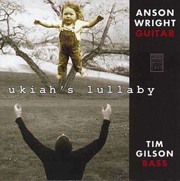 Ukiah's lullaby CD cover